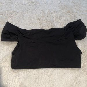 Last Chance! Urban Outfitters Cropped Black Swim